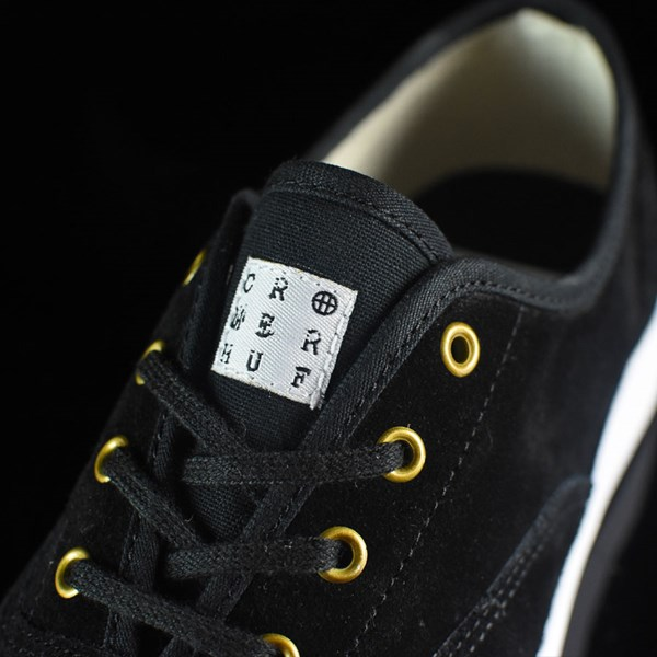 HUF Brad Cromer Pro Shoes Black, White Tongue