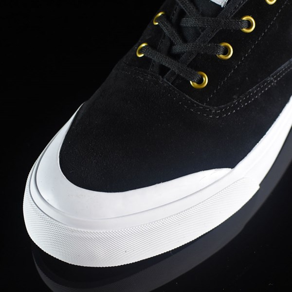 HUF Brad Cromer Pro Shoes Black, White Closeup
