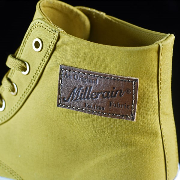 HUF Classic Hi Shoes Mustard, Millerrain Fabric