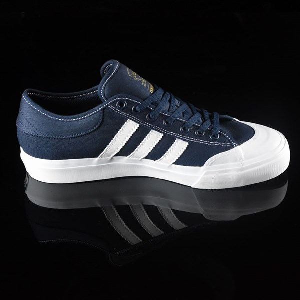 adidas Matchcourt Low Shoes Navy, White, Nestor Rotate 3 O'Clock