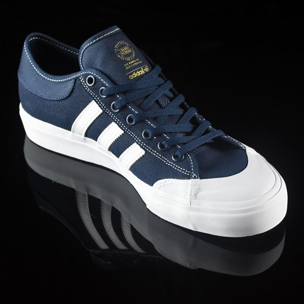 adidas Matchcourt Low Shoes Navy, White, Nestor Rotate 4:30