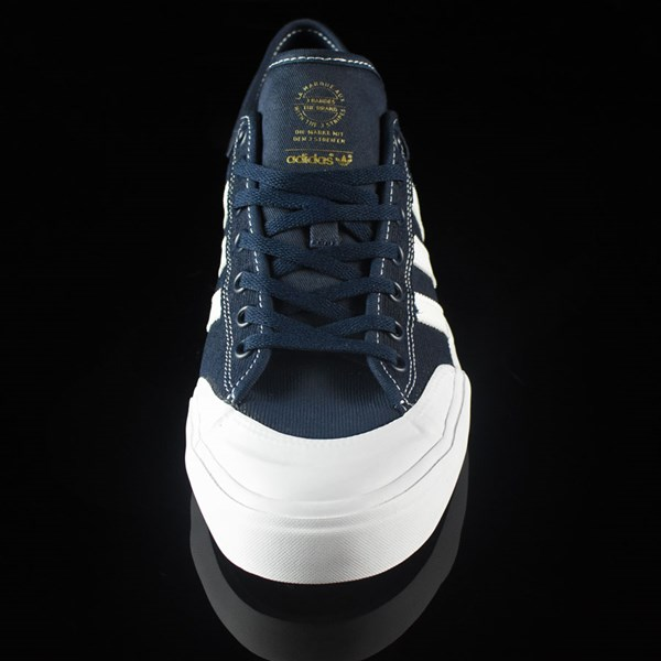 adidas Matchcourt Low Shoes Navy, White, Nestor Rotate 6 O'Clock