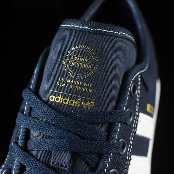 adidas Matchcourt Low Shoes Navy, White, Nestor Tongue