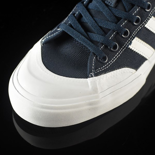adidas Matchcourt Low Shoes Navy, White, Nestor Closeup