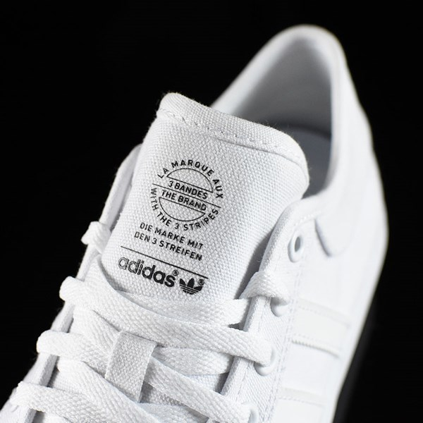 adidas Matchcourt Low Shoes White, White Tongue
