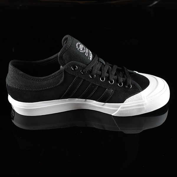 adidas Matchcourt Low Shoes Black, Black, White Rotate 3 O'Clock