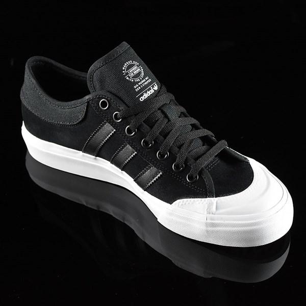 adidas Matchcourt Low Shoes Black, Black, White Rotate 4:30