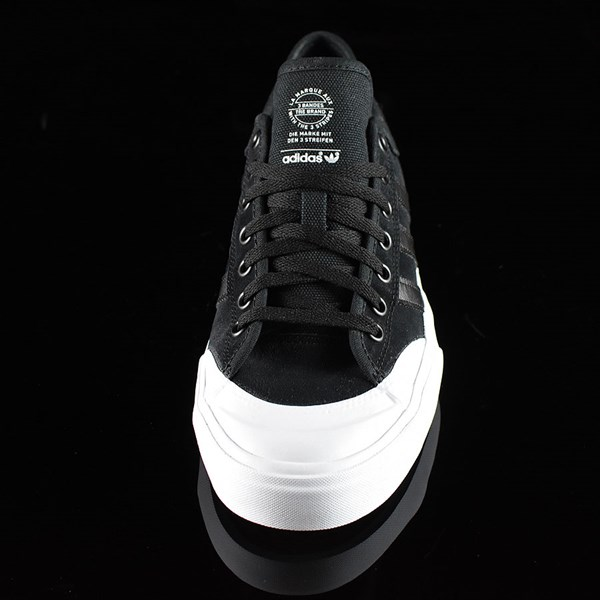 adidas Matchcourt Low Shoes Black, Black, White Rotate 6 O'Clock