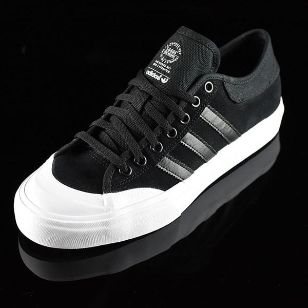 adidas Matchcourt Low Shoes Black, Black, White Rotate 7:30