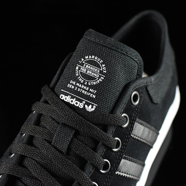 adidas Matchcourt Low Shoes Black, Black, White Tongue