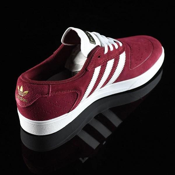 adidas Silas Vulc ADV Shoes Burgundy Rotate 1:30