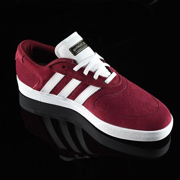 adidas Silas Vulc ADV Shoes Burgundy Rotate 4:30