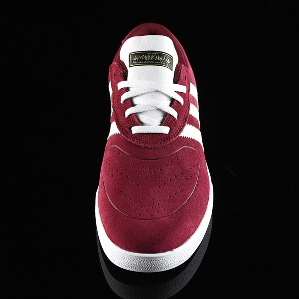 adidas Silas Vulc ADV Shoes Burgundy Rotate 6 O'Clock