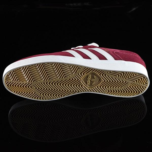 adidas Silas Vulc ADV Shoes Burgundy Sole