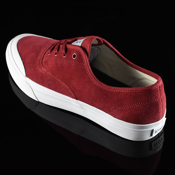 HUF Cromer Shoes Red Rotate 7:30