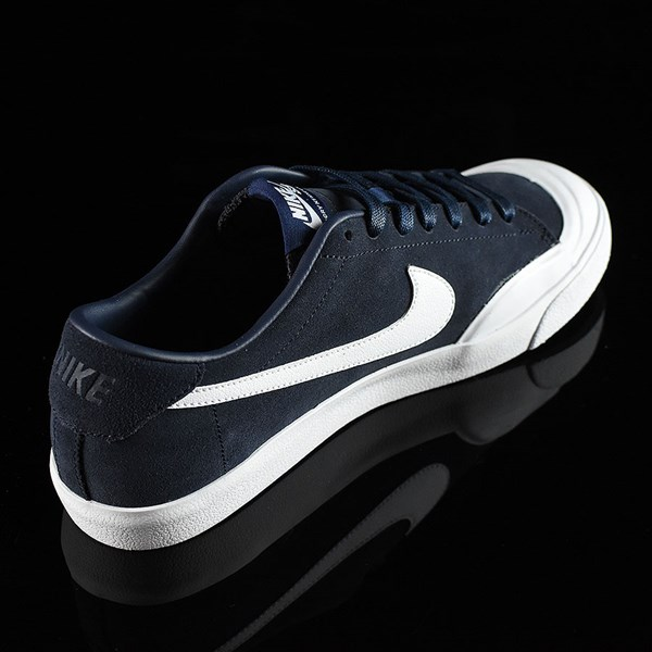 Nike SB Zoom All Court CK Shoes Obsidian Rotate 1:30