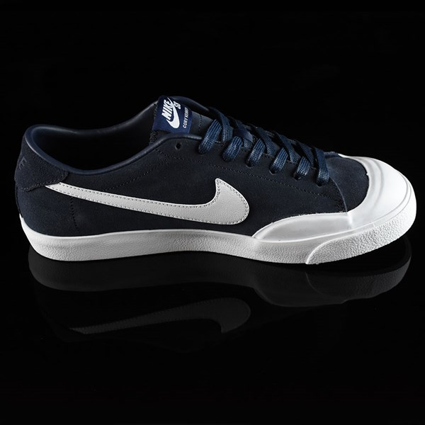 Nike SB Zoom All Court CK Shoes Obsidian Rotate 3 O'Clock