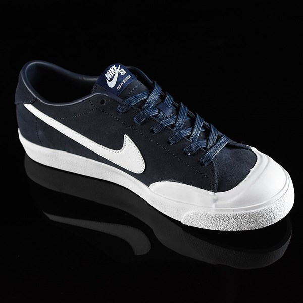 Nike SB Zoom All Court CK Shoes Obsidian Rotate 4:30