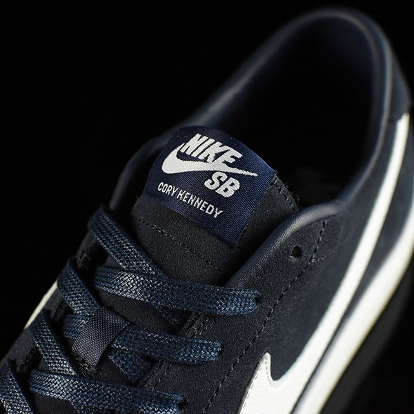 Nike SB Zoom All Court CK Shoes Obsidian Tongue
