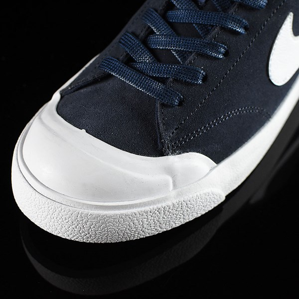 Nike SB Zoom All Court CK Shoes Obsidian Closeup