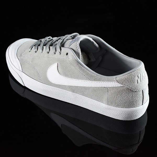 Nike SB Zoom All Court CK Shoes Grey Rotate 7:30