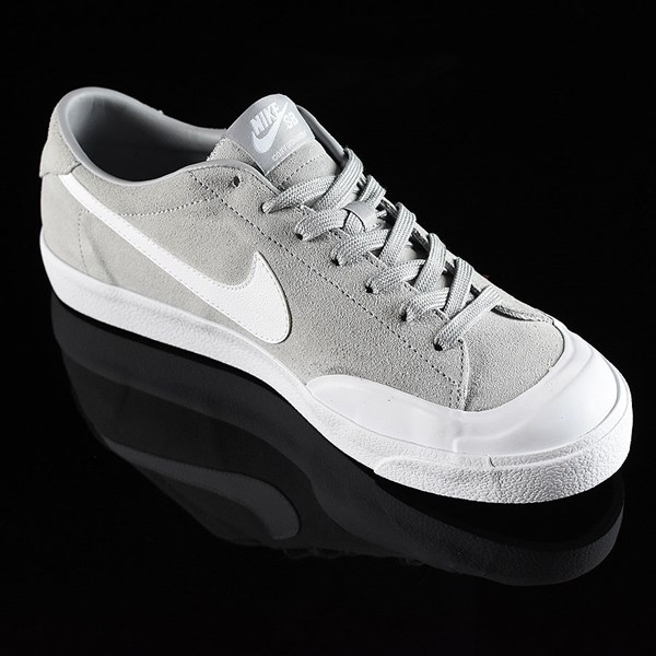 Nike SB Zoom All Court CK Shoes Grey Rotate 4:30