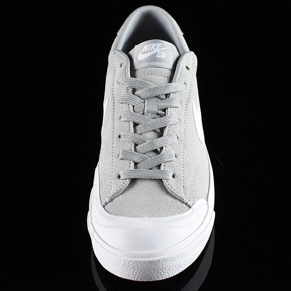 Nike SB Zoom All Court CK Shoes Grey Rotate 6 O'Clock