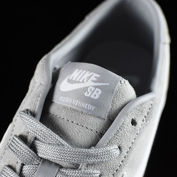 Nike SB Zoom All Court CK Shoes Grey Tongue