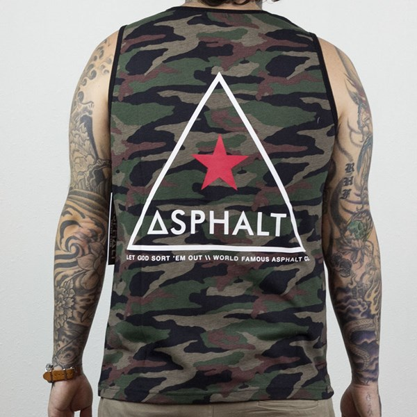 Asphalt Yacht Club Delta Force Tank Camo From the back.