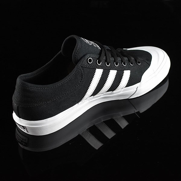 adidas Matchcourt Low Shoes Black, White Rotate 1:30