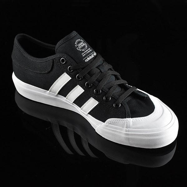 adidas Matchcourt Low Shoes Black, White Rotate 4:30