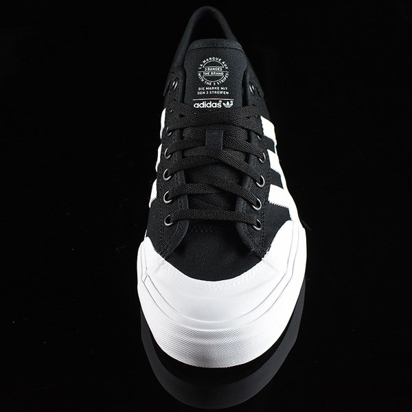 adidas Matchcourt Low Shoes Black, White Rotate 6 O'Clock