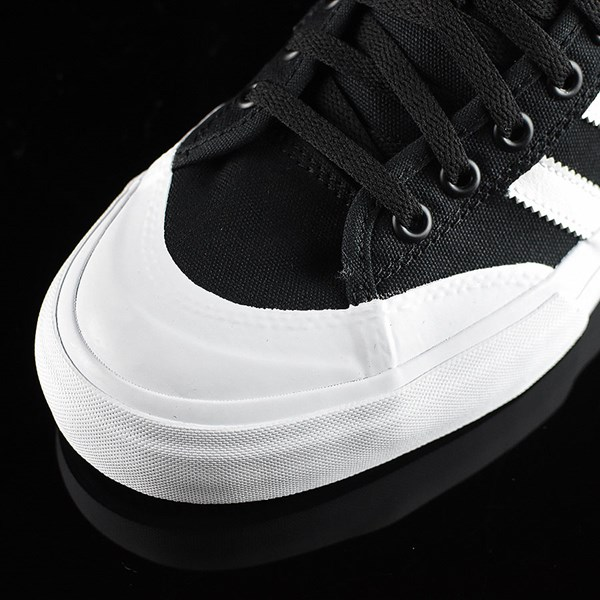 adidas Matchcourt Low Shoes Black, White Closeup