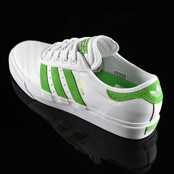 adidas Adi-Ease Premiere Away Days Shoes White, Green Rotate 7:30