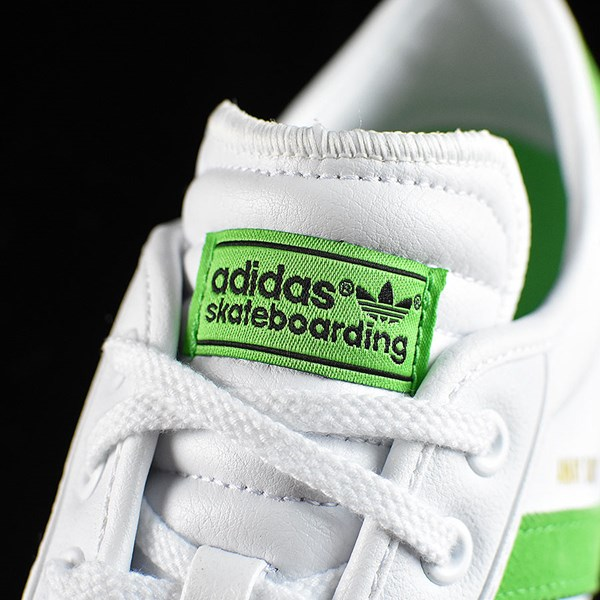 adidas Adi-Ease Premiere Away Days Shoes White, Green Tongue