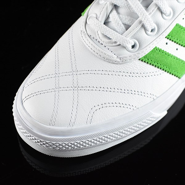 adidas Adi-Ease Premiere Away Days Shoes White, Green Closeup