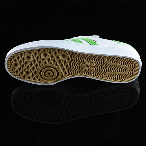 adidas Adi-Ease Premiere Away Days Shoes White, Green Sole