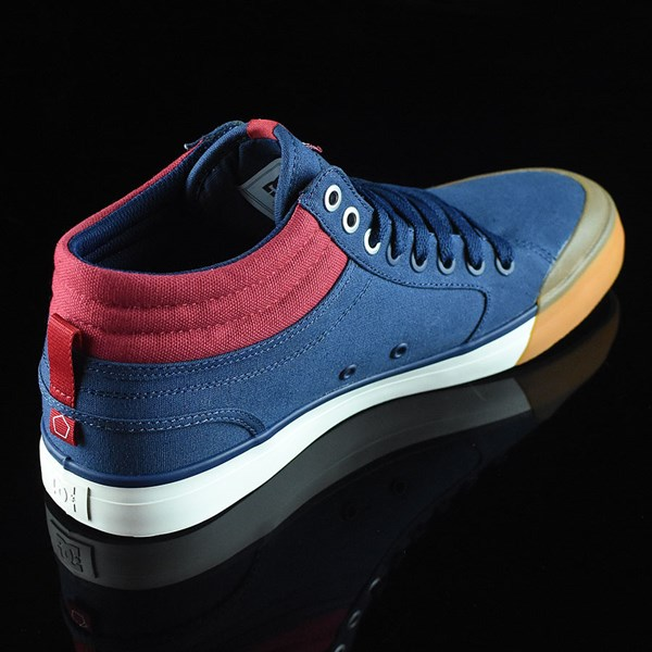 DC Shoes Evan Smith HI Shoe Navy, Red Rotate 1:30