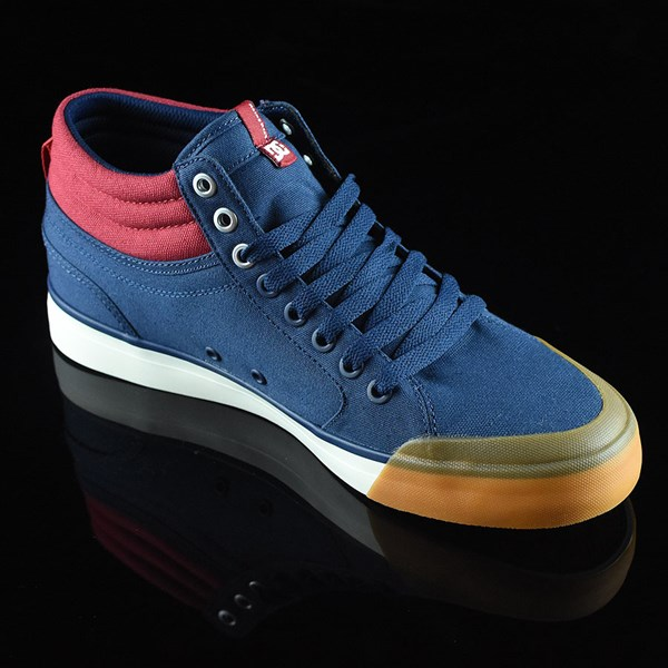 DC Shoes Evan Smith HI Shoe Navy, Red Rotate 4:30