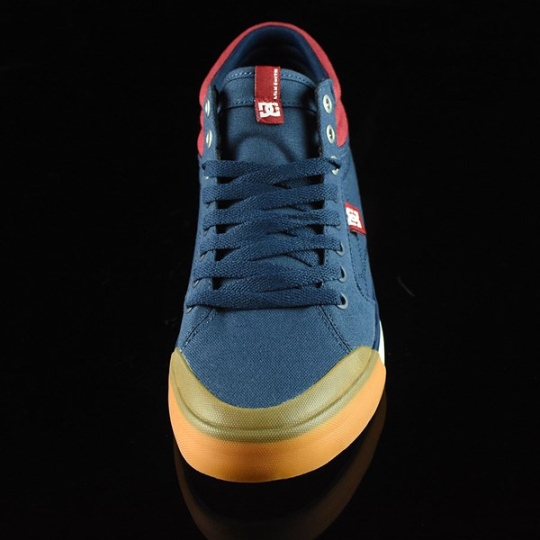 DC Shoes Evan Smith HI Shoe Navy, Red Rotate 6 O'Clock