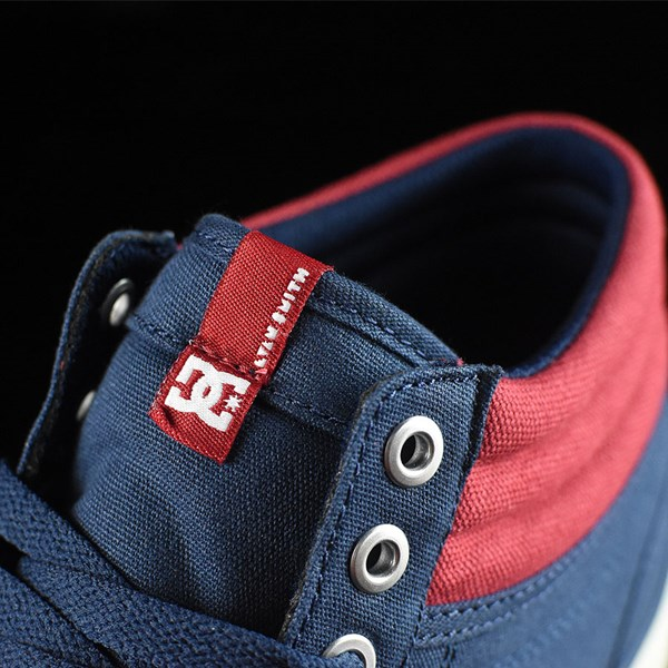 DC Shoes Evan Smith HI Shoe Navy, Red Tongue