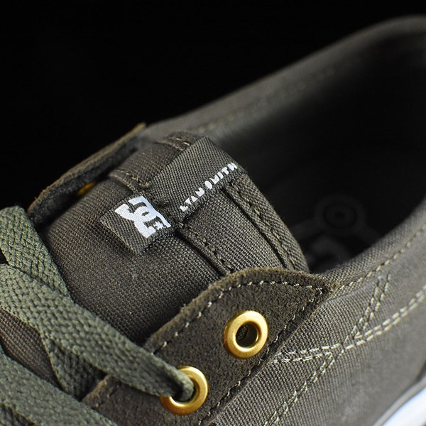 DC Shoes Evan Smith S Shoe Dark Beige Tongue