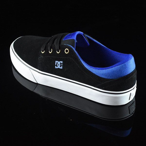 DC Shoes Trase S Shoes Black, Blue Rotate 7:30
