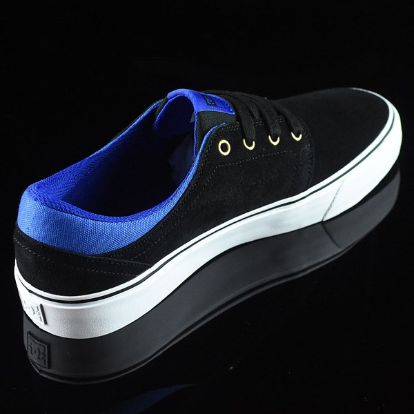 DC Shoes Trase S Shoes Black, Blue Rotate 1:30
