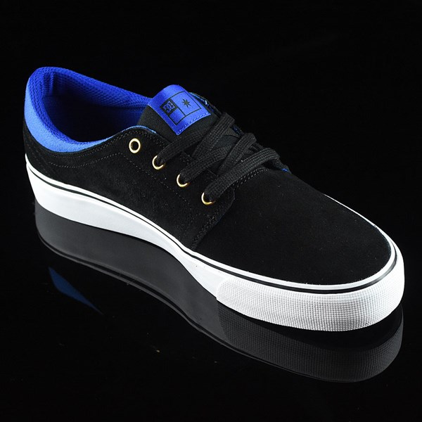 DC Shoes Trase S Shoes Black, Blue Rotate 4:30