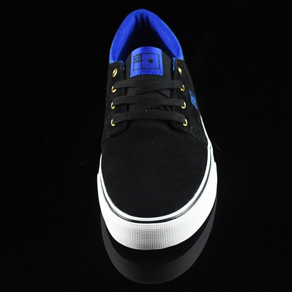 DC Shoes Trase S Shoes Black, Blue Rotate 6 O'Clock