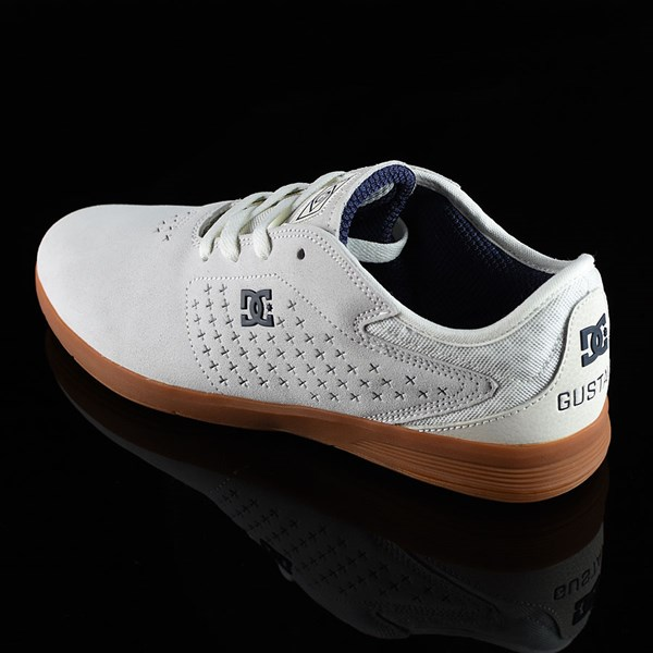 DC Shoes New Jack S Felipe Shoes White, Gum Rotate 7:30