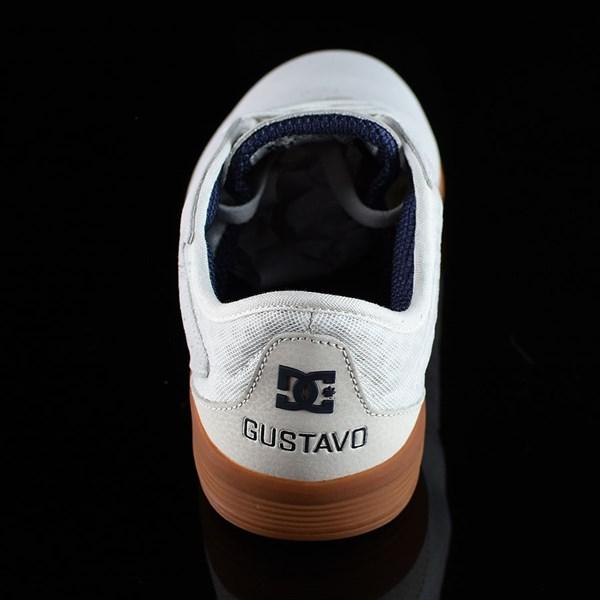 DC Shoes New Jack S Felipe Shoes White, Gum Rotate 12 O'Clock