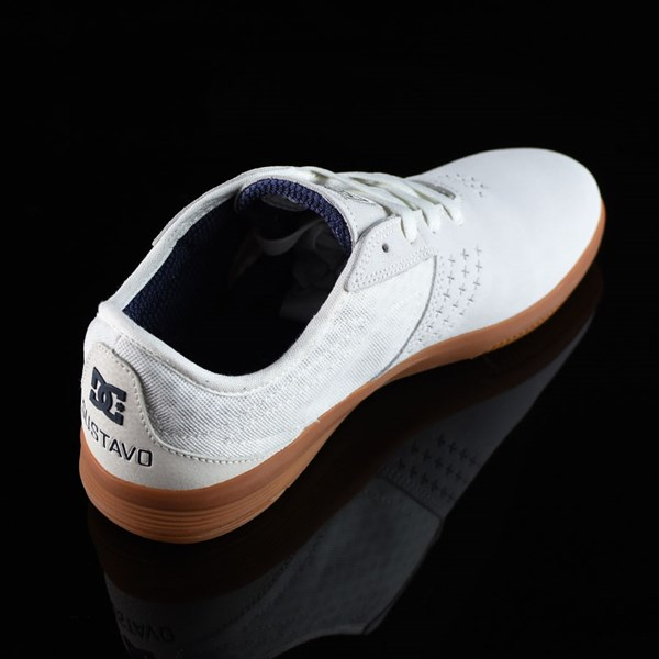DC Shoes New Jack S Felipe Shoes White, Gum Rotate 1:30