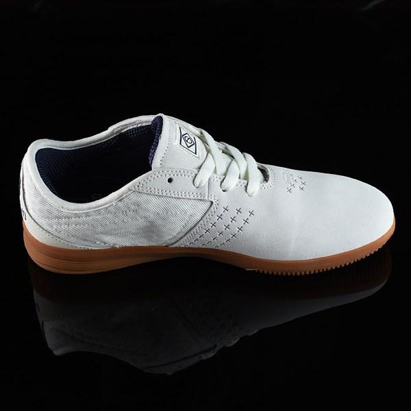 DC Shoes New Jack S Felipe Shoes White, Gum Rotate 3 O'Clock